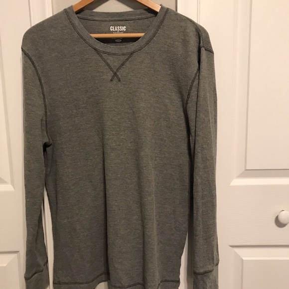 Old Navy Other - Old Navy Classic Crew Neck Henley. Gray. Size L